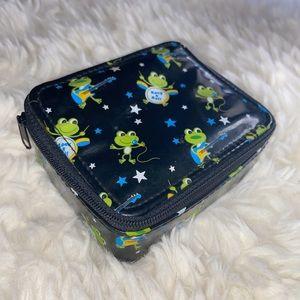 Vintage Y2K Rock and Roll Frog Wallet Bag